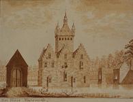 RISCH-78 Het huis Matenesse in de 13e eeuw.