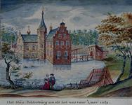 RISCH-82 Het huis Polderburg in het jaar 1489.