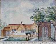 RISCH-91 Oprit naar het Slot Spangen op 3 september 1745.