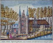 RISCH-94 Het Huis Spieringshoek in het jaar 1500.