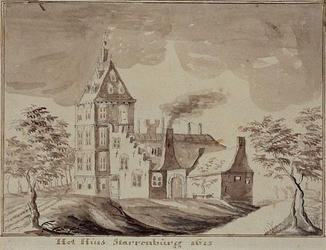 RISCH-96 Het Huis Starrenburg 1615.