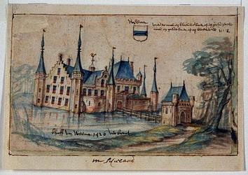 RISCH-97 Gefantaseerde voorstelling van het Hof van Weena.