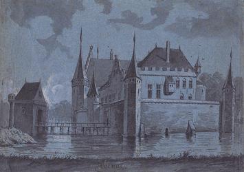 RISCH-98 Gefantaseerde voorstelling van het Hof van Weena.