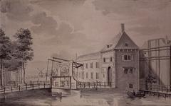 V-173-03 De Binnenwegse Poort, op de voorgrond de Schiedamsesingel.
