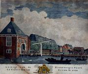 V-174 Gezicht op de Binnenwegse Poort in Rotterdam.