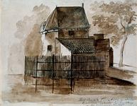 V-201 Het laatste Torenhuis voor de Gietersteeg bij de Oostpoort.