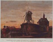 V-75 Stadspoort in de 17e eeuw.De Oostpoort gebouwd 1611-1613.