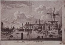 VII-142 Admiralitteitsmagazijn te Rotterdam.