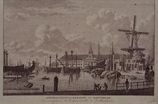 VII-143 Boerengat.Het Admiraliteits Magazijn.Gebouw der Admiraliteit, aan het 's Lands Werf.