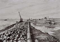VII-168-00-00-115-2 Werkzaamheden aan de Nieuwe Waterweg-Zeehaven in de Europoort.