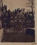VII-168-01 Groenendaal uit het westen. (in spiegelbeeld).