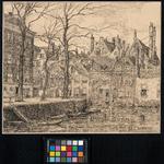 VII-169-05 Gezicht op het Groenendaal uit het zuiden.
