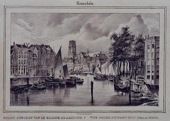 VII-198 Gezicht genomen van de kleine Draaibrug, naar Westnieuwland en Open Rijstuin.