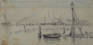 VII-313 de Nieuwe Maas bij het Katendrechtse Veer.