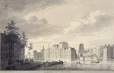 VII-392 De Geldersekade anno 1753.