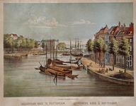 VII-427 Gezicht op de Oudehaven met rechts de Geldersekade.