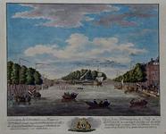 VII-461 Gezicht op de Scheepmakershaven en de Wijnhaven, met in het midden kraan op De Punt. Links de Hertekade