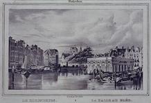VII-473 Gezicht op de Steigersgracht met Korenbeurs.