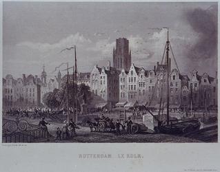 VII-476 Steigersgracht bij de Grotemarkt uit het zuidoosten.