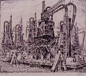 VII-561 Drijvende graanelevatoren.