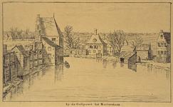 VIII-102 De Goudsesingel vanaf de Oostpoort.