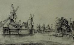 VIII-115 Pompenburgsingel met Pompenburg.
