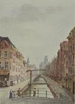 VIII-37-02 Gezicht op de voormalige Kipsloot. Vanaf Goudsewagenstraat naar het westen. (Naar R.I. 248). De Kipstraat.