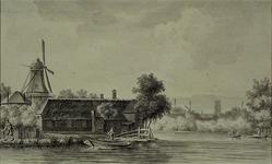 VIII-58 De Rotte bij het Zwanen Eiland.