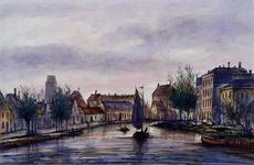 VIII-62 De Rotte uit het noordoosten, vanaf de Noorderbrug (Rottebrug).