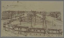 VIII-70-14 Gezicht op de Rotte vanaf de Zwaanshalskade, uit het zuiden. Aan de rechterkant de oude poort van de ...