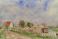 VIII-70-35 Bergschenhoek - RottekadeGezicht op de Rotte bij Bergschenhoek. Langs de Rotte Bij Bergschenhoek