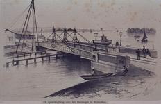 X-100 De spoorwegbrug over het Boerengat.