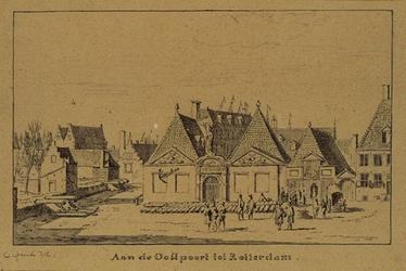 XI-12-01-2 Admiraliteitsarsenaal bij de Oostpoort anno 1674.