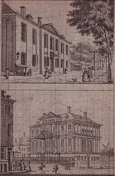 XI-8 Admiraliteitshuis en het Gemeenlandshuis van Schieland.