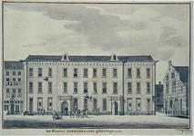 XII-102-02-02 Het Nieuwe Sakkedragers Gildehuys anno 1761.