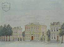 XII-117-01 Het administratiegebouw en de directeurswoning van het abattoir aan de Boezemstraat.