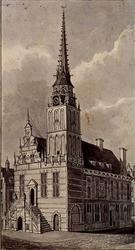 XII-3 Stadhuis aan de Hoogstraat.