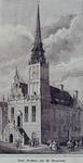 XII-4 Gezicht op het oude stadhuis aan de Hoogstraat.
