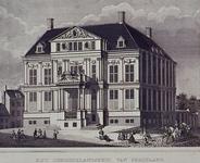 XIII-14 Gezicht op het Gemeenlandshuis van Schieland aan de Korte Hoogstraat.