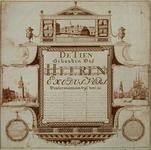 XIV-12 De Beurs uit het noordoosten.Haringpakkerstoren te Amsterdam, Jan Roden Poortstoren te Amsterdam,Pennenkonst, de ...