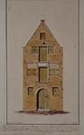 XIV-279-01 Gezicht op het pakhuis Bussing aan de westzijde van de Achterhaven.