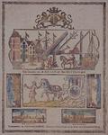XIV-488 Gezicht op de kraan op de Punt uit het zuidwesten.