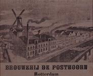 XV-145 Brouwerij de Posthoorn in de 2de Lombardstraat (wijk 8 nummer 24)