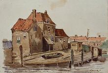 XV-17 Gezicht op de Oostmolenwerf.