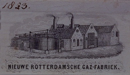XV-179 Gasfabriek aan de Oostzeedijk.
