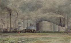 XV-212-02-11 Bataafse Petroleum Maatschappij (Shell) aan de Vondelingenweg.