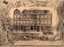 XV-87-02 Fabriekspand van N.V. Vereenigde Cacao, Chocolade, Suikerwerk Veka op nummers 226-236, uit het westen.