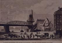 XVII-46 Gezicht op het viaduct bij het Hofplein, uit het westen.