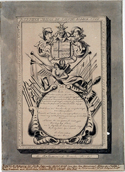 XVIII-149-2 Grafzerk van vice-admiraal Johan de Liefde in de Sint-Laurenskerk.