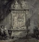 XVIII-155 Grafmonument van Witte de With in de Grote Kerk.